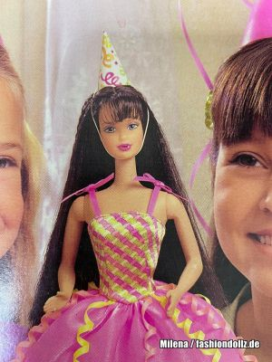 1999 Birthday Party Barbie, brunette  #22907
