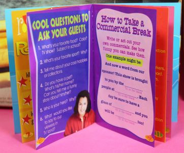 1999 Rosie O'Donnell -  Activity Book