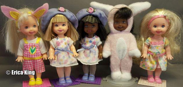 1998   - 2001 Easter Barbie & Kelly Sets