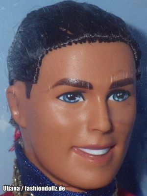 2001 Nutcracker Ken as Prince Eric #50793