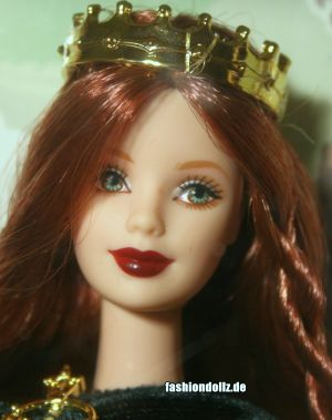 2001 The Princess Collection - Princess of Ireland Barbie #53367