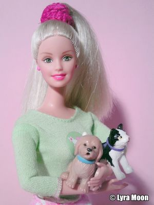 2002 Kennel Care / Tierpflegerin Barbie #53449