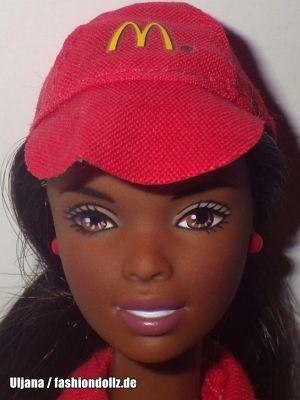 2002 McDonald's Fun Time Barbie & Kelly AA #29396