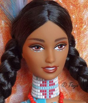 2002 Native Spirit Collection - Spirit of the Water Barbie #53861