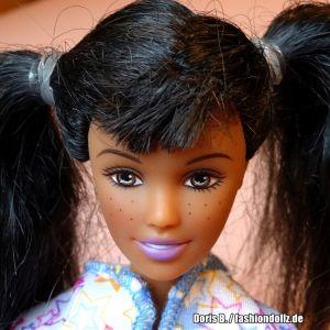 2003 Pajama Fun Tote Barbie & Skipper AA B2775