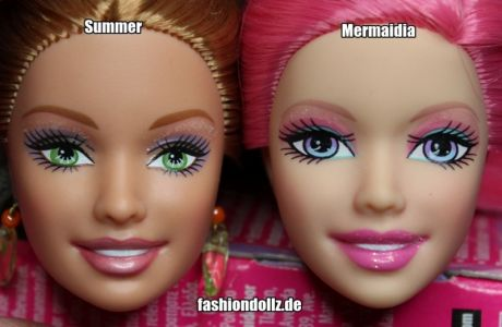 2003 Summer Facemold - 2004 Crystal Facemold