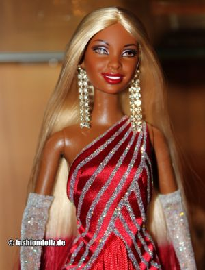2003 Diva Collection - Red Hot Barbie AA  #56708