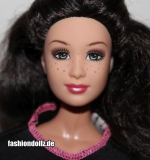 2005 Barbie Fashion Fever Gillian, Promo Variante