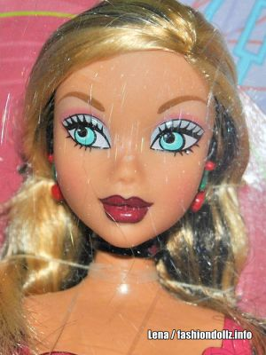 2005 My Scene - Swappin Styles Barbie H0998 Extra Head