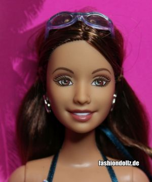 2006 Beach Fun Summer Doll J0698 ©Mattel