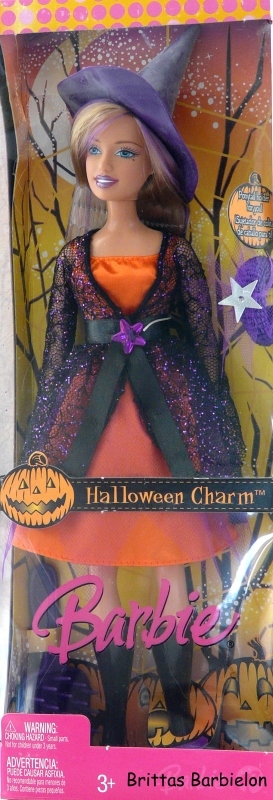 2007 Halloween Charm Barbie J9203 Bild #01
