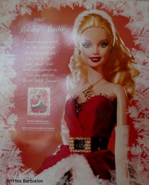 2007 Holiday Barbie Bild #03