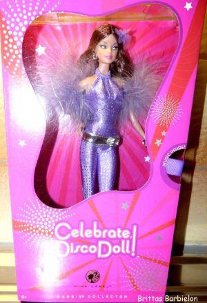 2008 Celebrate Disco Barbie Bild #10