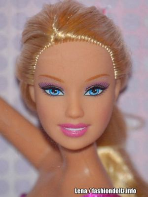 2008 Gymnastic Divas Barbie L2931