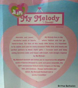2008 My Melody Barbie M7510 Bild #03