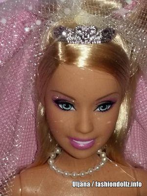 2008 Wedding Day Sparkle Barbie N4970