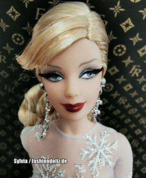 2008 20th Anniversary Holiday Barbie  L9643