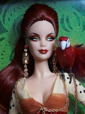 2008 The Scarlet Macaw Barbie  L9659 Gold Label