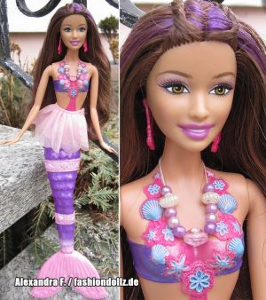 2010 Barbie in a Mermaid Tale - Das Geheimnis von Oceana - Mermaid Xylie