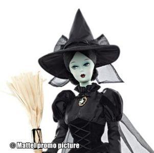 2010 Wizard of Oz, Wicked Witch of the West, Elphaba (Silkstone)
