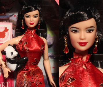 2011 Dolls of the World - China Barbie  W3323