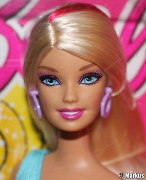 2011 Hairtastic / Glam Hair Barbie, blonde V9516