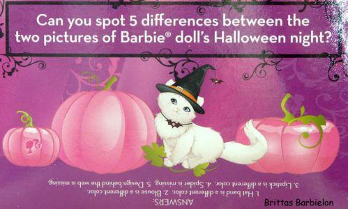 2011 Halloween Party Barbie Bild #06