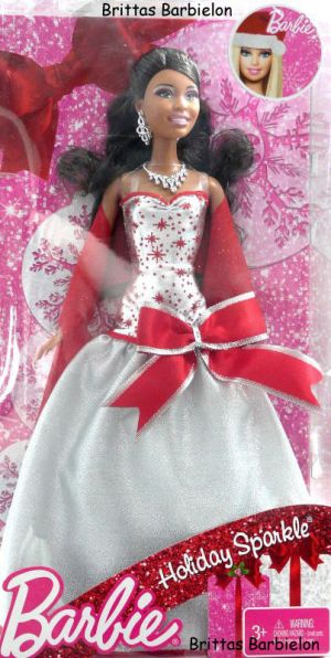 2011 Holiday Sparkle Barbie AA V4416 Bild #01