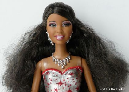 2011 Holiday Sparkle Barbie AA V4416 Bild #06