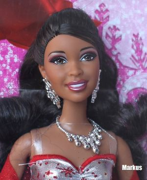 2011 Holiday Sparkle Barbie AA V4416