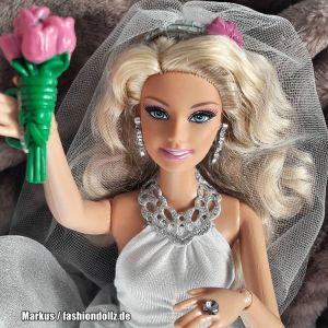 2011 Princess Bride Barbie T7365