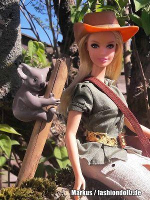 2011 Dolls of the World - Australia Barbie & Koala W3321
