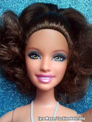 2012 Ballerina Princess Barbie, brunette W2922