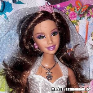 2012 Bride - Bridal - Braut Barbie, brunette X1171