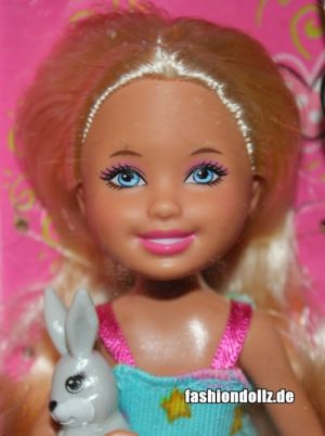 2012 Barbie - Chelsea doll and Bunny W3202