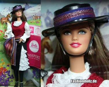 2012 Dolls of the World - Chile Barbie W3494