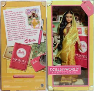 2012 Dolls of the World - India Barbie W3322