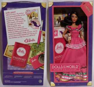 2012 Dolls of the World - Mexico Barbie #W3374