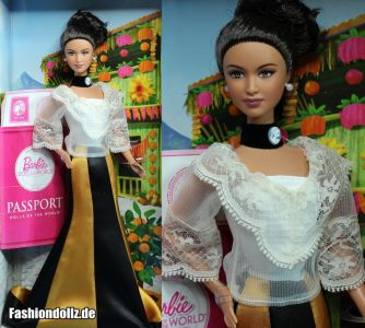 2012 Dolls of the World - Philippines Barbie #X8423