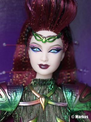 2012 Empress of the Aliens Barbie W3514 Gold Label