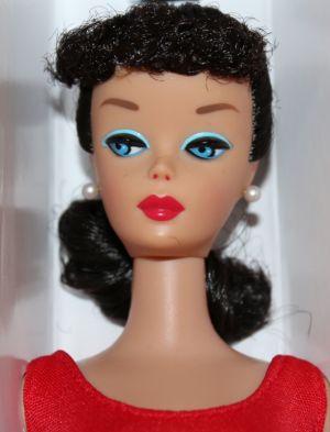 2012 Let's Play Barbie Repro - Brunette W3505