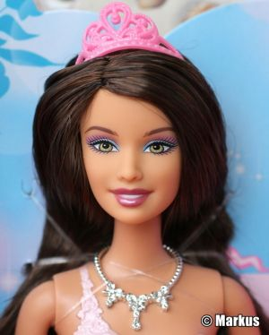 2012 Princess Teresa Doll, orange dress W2859