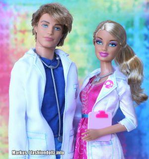 2012 I can be... Doctors Barbie & Ken Set  W1379