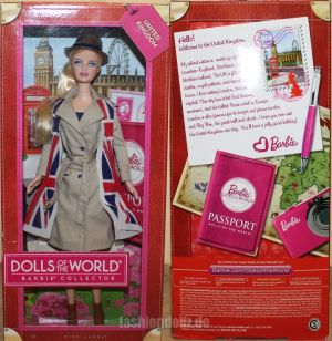2013 Dolls of the World - United Kingdom #X8426