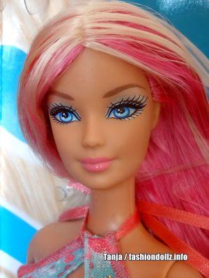 2013 Hairtastic - Glam Hair Wave 2 Barbie - pink Y9926
