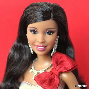 2013 Holiday Barbie AA (Playline) BBV51