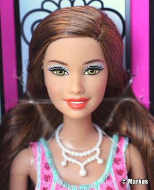 2013 Fashion Gift Set  Teresa Doll BBX44 ©Mattel