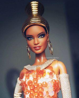 2013 Stephen Burrows Alazne Barbie  X8279