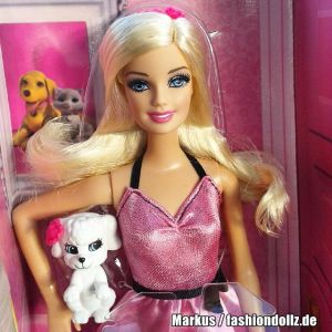 2014 Barbie & Pet Set BLR73