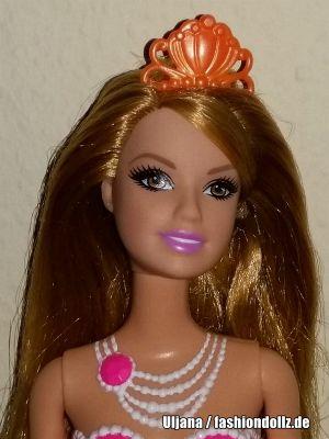 2014 The Pearl Princess Mermaid Barbie, coral BDB49